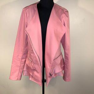 Lane Bryant Pink Blazer